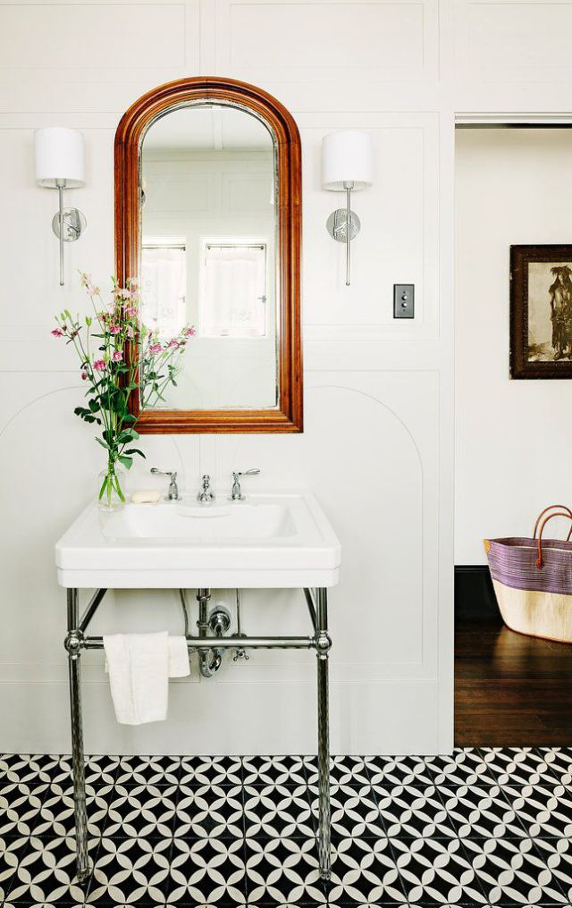 Lovely Even If Youu0027re A White Walled Person, You Can Still Have Some Fun In Your  Bathroom Or Kitchen By Installing An ...